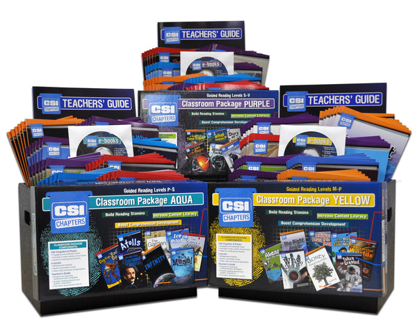 CSI Chapters Complete Package