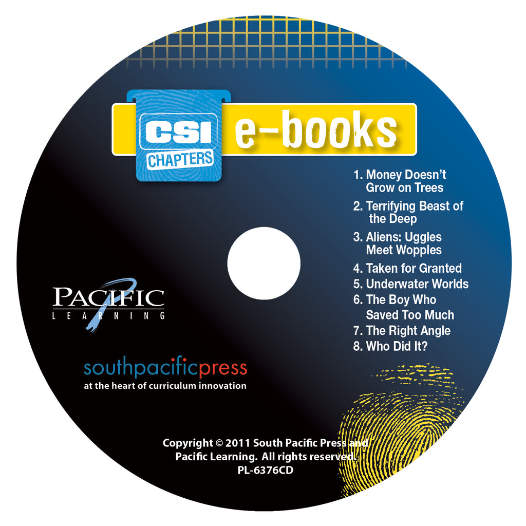 CSI Chapters, Yellow