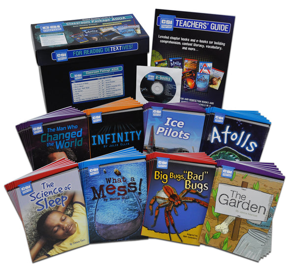 CSI Chapters Classroom Package – Aqua