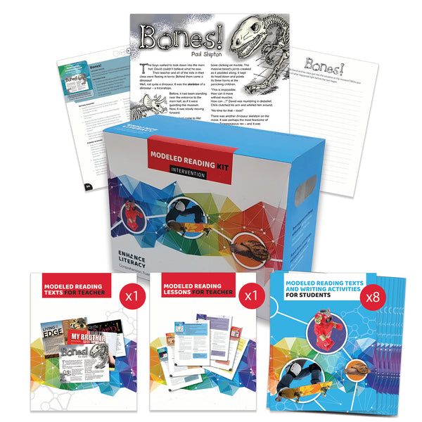 Enhance Literacy - Modeled Reading Levels L-V kit