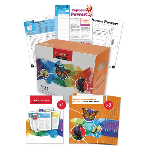 Enhance Literacy - Fluency Levels L-V kit