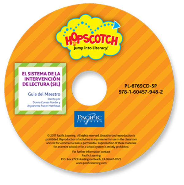 Hopscotch SIL Orange Teacher Guide on CD: Levels A-C