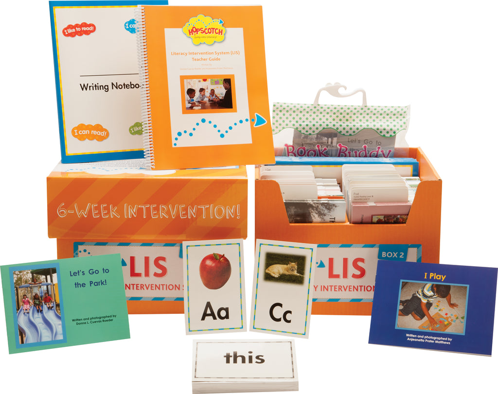 Hopscotch Literacy Intervention System (LIS) - Levels A-C Orange Kit