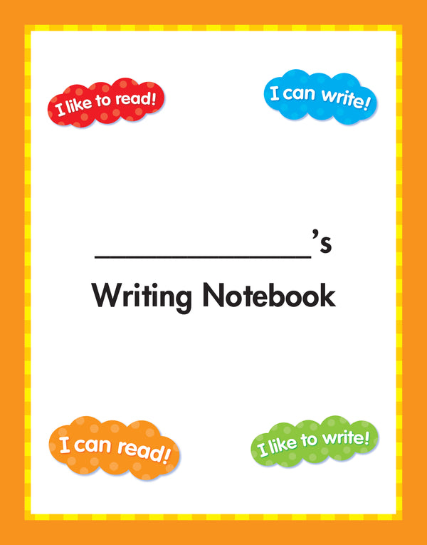 Hopscotch writing notebook