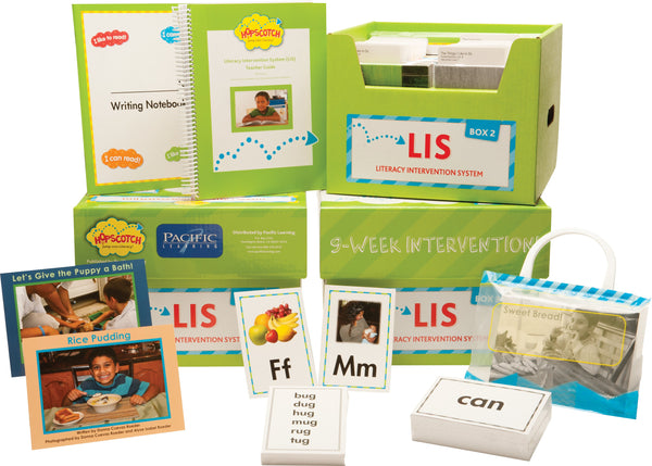 Hopscotch Digital Literacy Intervention System (LIS) - Levels D-I Green Kit