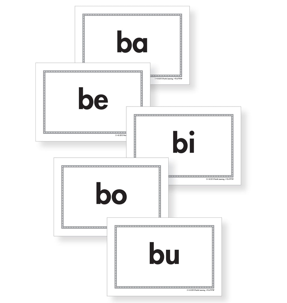 Hopscotch SIL Syllable Cards