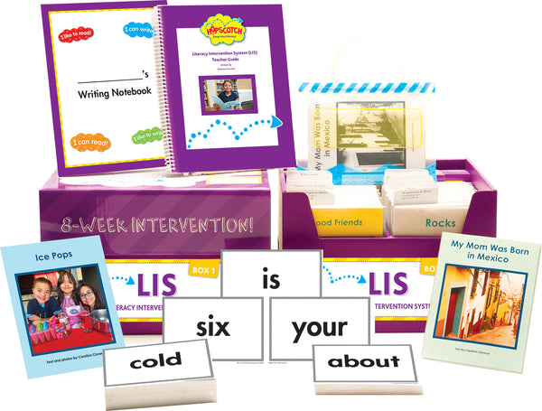 Hopscotch Literacy Intervention System (LIS) - Levels J-M Purple Kit