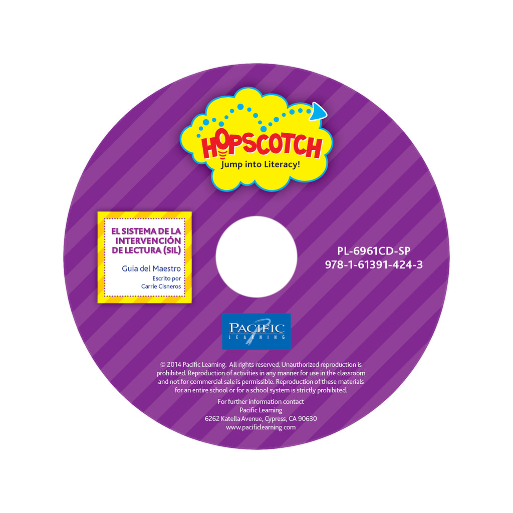 Hopscotch SIL Purple Teacher Guide on CD: Levels J-M