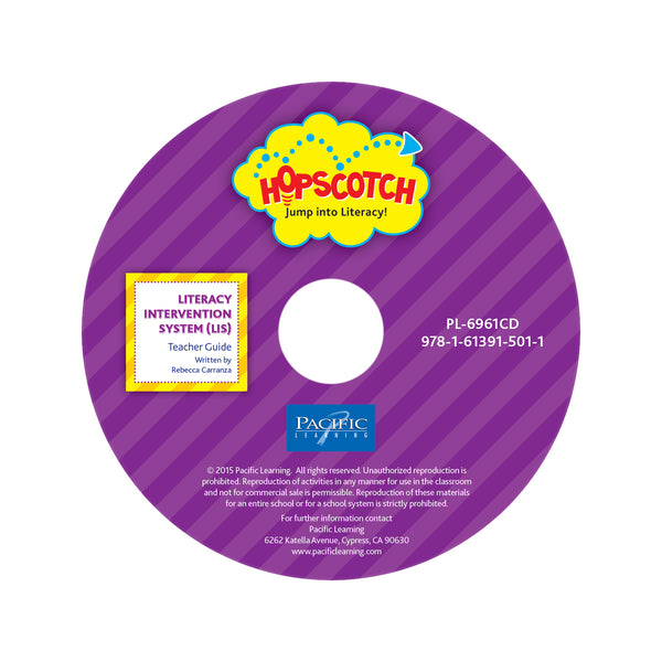 Hopscotch LIS Purple Teacher Guide on CD: Levels J-M