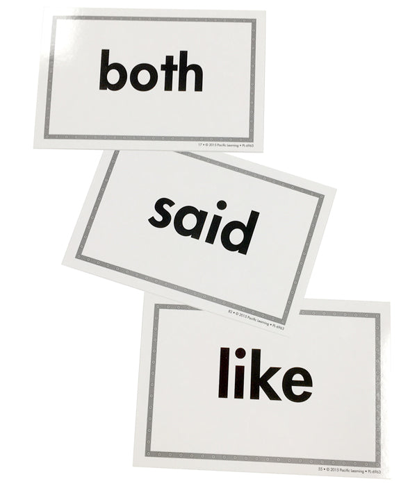LIS High-Frequency Word Card Set