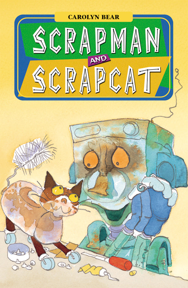 Scrapman and Scrapcat