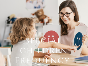 Frequency - Special Children Program <BR> 特別孩子頻率程式 - newearthstore