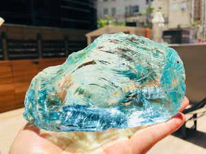 Andaras - Aqua Diamond Andara 517 grams  海洋鑽石光 - newearthstore