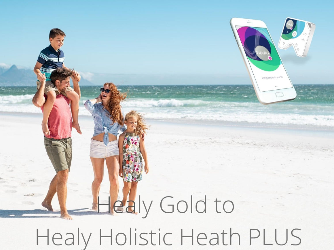 Healy Upgrade - from Healy Gold to Holistic Health Plus - newearthstore