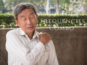 Frequency - Stiff Neck & Shoulder Program Combo <BR> 僵硬肩膀/脖子兩個頻率組合 - newearthstore