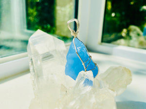 Andaras - Divine Father Heavely Blue Pendant 神聖父天藍色吊墜 - newearthstore
