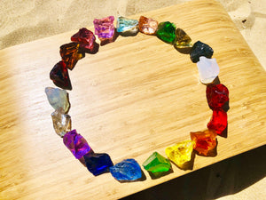 Andara - Cosmic Rainbow Plasma Crystalline Lightbody Activation 20 Pcs Set 6 <BR> 宇宙彩虹等離子水晶光體啟動組合 6 - newearthstore