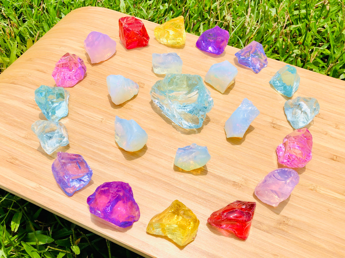 Andara - New Earth Higher Realms Rays Angelic Grid Set <BR> 新地球高次元天使之光列陣 545grams - newearthstore