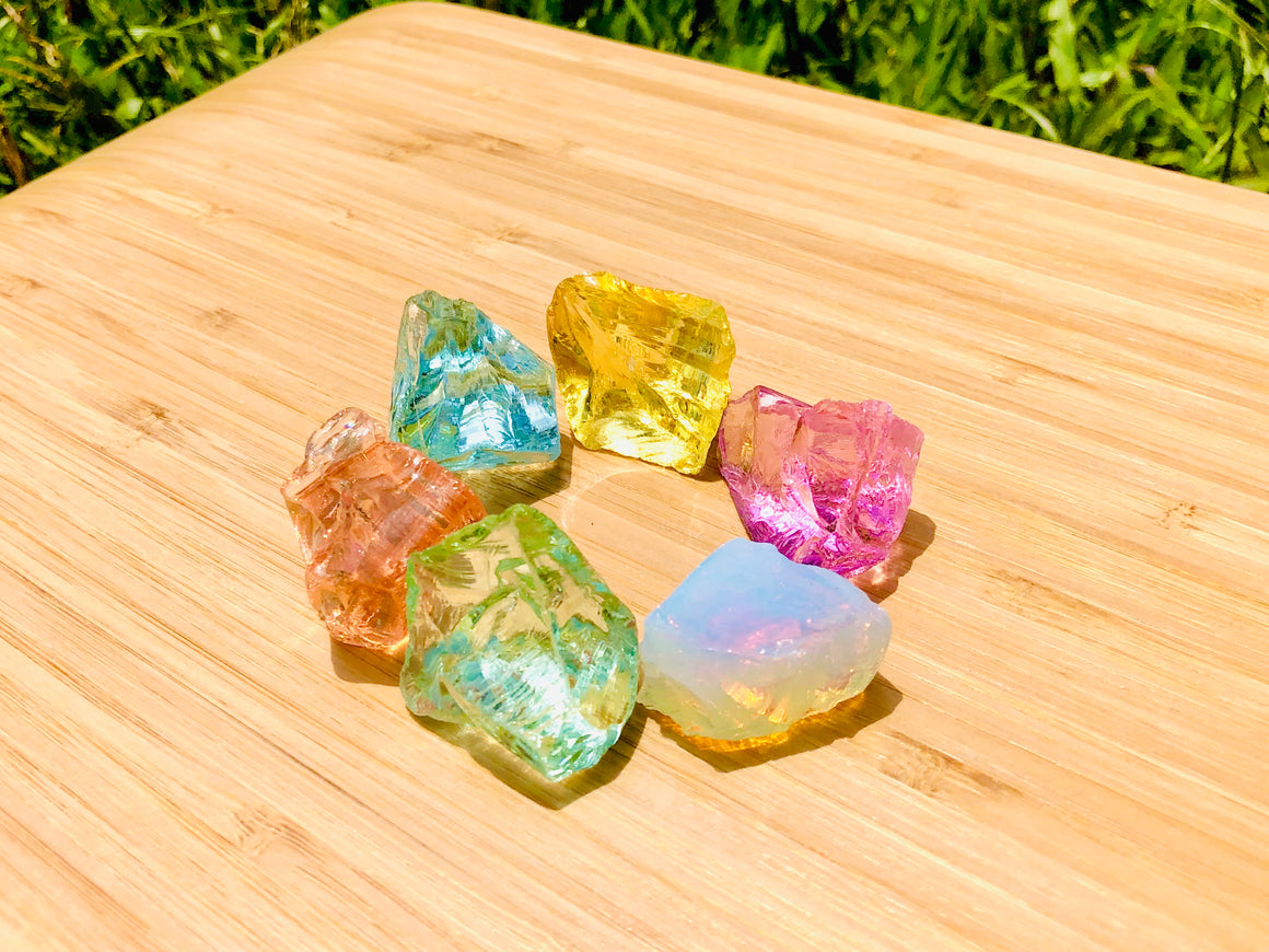 Andara - Angelic Lemurian Three Fold Flame Activation Set <BR> 天使拉姆尼亞神聖三火焰啟動 87grams - newearthstore