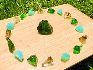 Andaras - Divine Sacred Abundance Emerald Light Plasma Crystalline Lightbody DNA Activation Grid Set 3 <BR>  神聖豐盛綠寶石之光 - 水晶光體基因啟動組合 3 - newearthstore