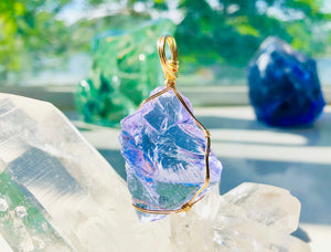 Andaras - Lilac Pendant Activate Magic & Royal Bloodlines <BR> 溫柔的淡紫色,啟動皇族血統 - newearthstore