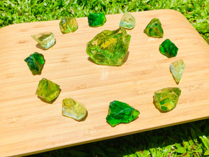 Andaras - Heart of Emerald Elemental Forest Activation Grid Set <BR> - newearthstore