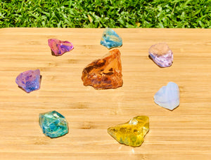 Andaras  - Champagne Lemurian New Earth Ray Crystalline Lightbody Activation Grid Set <BR> 香檳拉姆尼亞新地球之光水晶光體啟動組合列陣 123grams - newearthstore