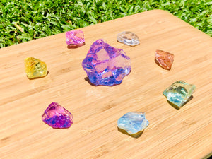 Andaras - Orchid Heart Crystalline Lightbody Activation Grid Set<BR> 蘭花之心水晶光體啟動列陣 139grams - newearthstore