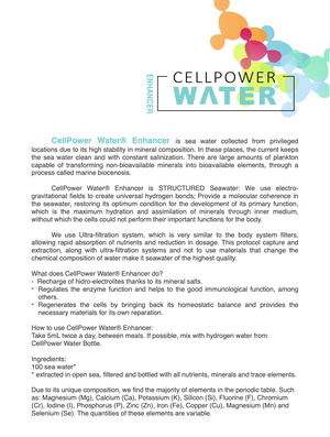 CellPower Water® Enhancer - CellPower 氫水增強補充劑 ( HKD 350 ) - newearthstore