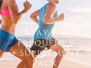 Stay Fit Frequency Supplement & Pack (Basic) <BR> Stay Fit & Slim 頻率及營養支援組合 1 - newearthstore