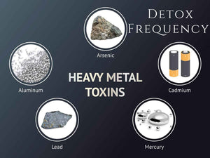 Frequency - Heavy Metal Detox Program <BR> 重金屬排毒頻率程式 - newearthstore