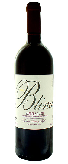"2016 Blina"" Barbera d'Asti - Agostino Pavia - Buy at www.thewinelot.sg"