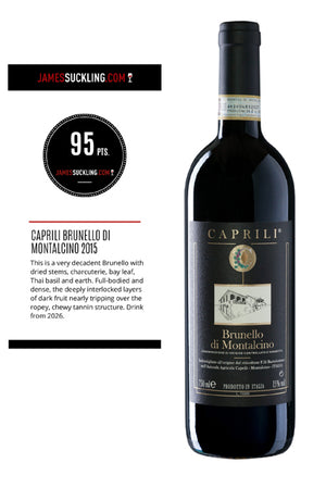 Caprili Brunello 2015 - Buy at www.thewinelot.sg