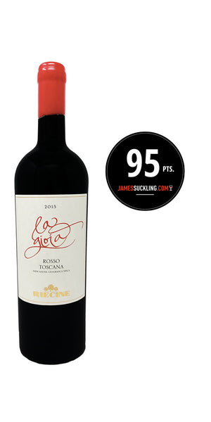 2015 La Gioia from Riecine - Rated 95 points from James Suckling - Sold by The Wine Lot Singapore