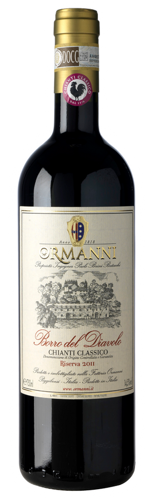 "2015 Chianti Classico Riserva ""Borro del Diavolo"" from Ormanni - Sold by The Wine Lot Singapore"