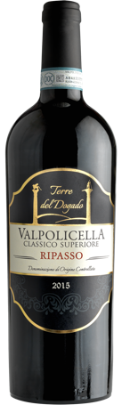 2016 Valpolicella Ripasso Classico Superiore DOC Terre Del Dogado - Buy from The Wine Lot Singapore www.thewinelot.sg