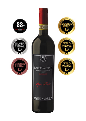 Award Winning 2014 Lequilibrio Barbera d'Asti - The Wine Lot