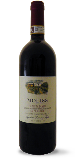 "2016 Moliss"" Barbera d'Asti DOCG Superiore Agostino Pavia - Buy from The Wine Lot Singapore"