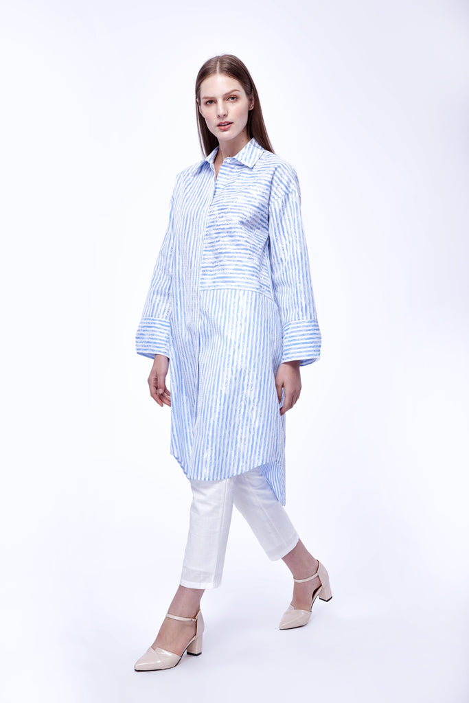 Cotton long tunic