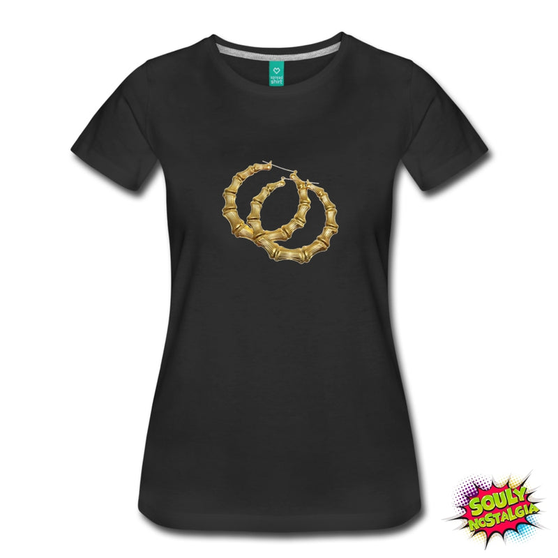 Bamboo Earring T-Shirt - Souly Nostalgia