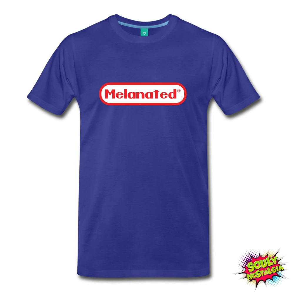 Melanated T-Shirt Royal Blue / S Mens Premium