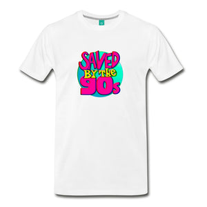 Saved By The 90S T-Shirt White / S Mens Premium