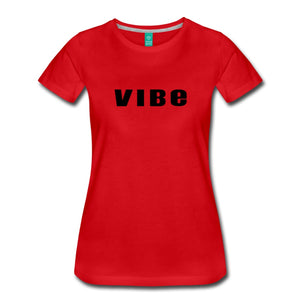 Vibe T-Shirt Red / S Womens Premium
