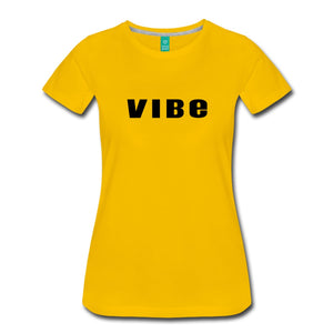 Vibe T-Shirt Sun Yellow / S Womens Premium