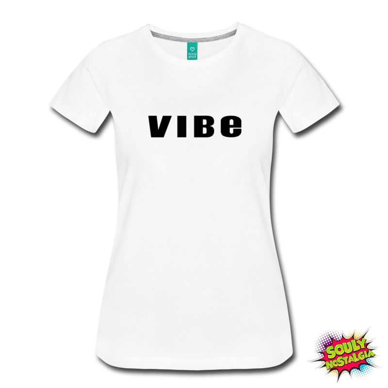 Vibe T-Shirt White / S Womens Premium