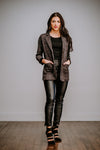 Charcoal Double Pocket Blazer