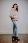 Light Grey Teddy Bear Jacket