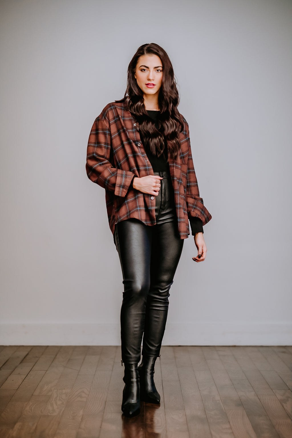 Chocolate Flannel