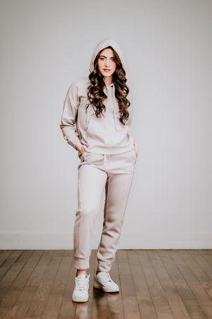 Free People Work It Out Jogger- Gray