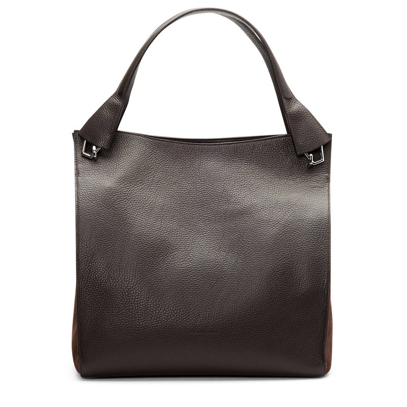 PARK MIXED MATERIAL TOTE